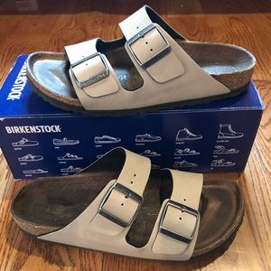 Birkenstock Arizona vegan stone 8 narrow